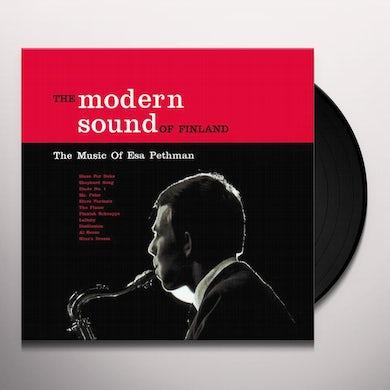 Esa Pethman MODERN SOUND OF FINLAND Vinyl Record - Sweden Release