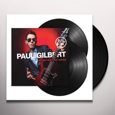 Paul Gilbert Behold Electric Guitar Vinyl Record