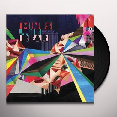 Minus The Bear INFINITY OVERHEAD Vinyl Record