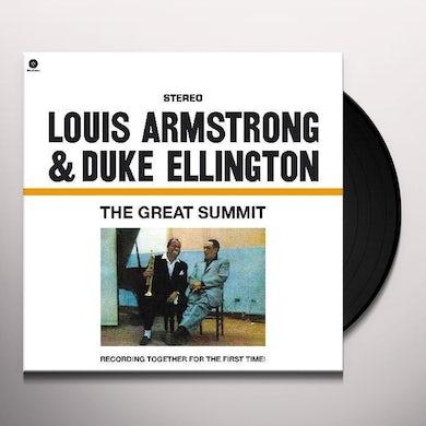 Louis Armstrong GREAT SUMMIT (BONUS TRACK) Vinyl Record - 180 Gram Pressing