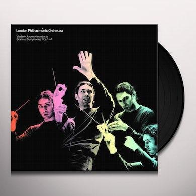 London Philharmonic Orchestra BRAHMS: COMPLETE SYMPHONIES Vinyl Record