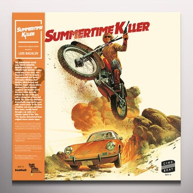 Luis Bacalov SUMMERTIME KILLER / Original Soundtrack Vinyl Record