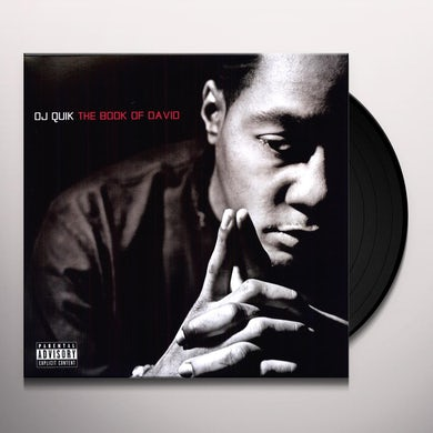 Dj Quik BOOK OF DAVID Vinyl Record