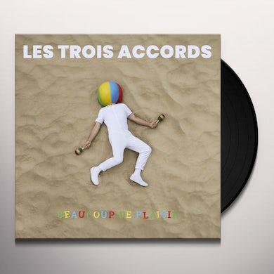 Les Trois Accords BEAUCOUP DE PLAISIR Vinyl Record