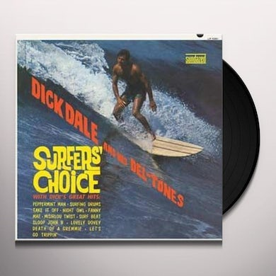 Dick Dale SURFERS CHOICE Vinyl Record