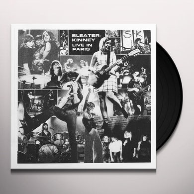 Sleater-Kinney LIVE IN PARIS Vinyl Record