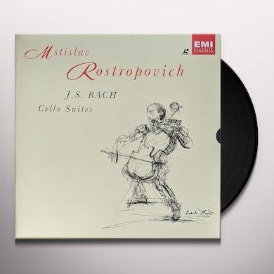 BACH CELLO SUITES (4LP/180G/IMPORT) Vinyl Record