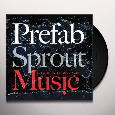 Prefab Sprout LET'S CHANGE THE WORLD WITH MUSIC Vinyl Record