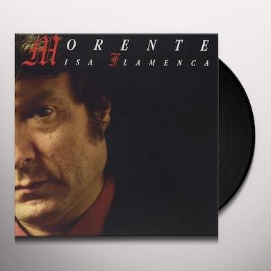 Enrique Morente MISA FLAMENCA Vinyl Record