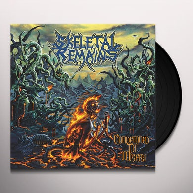 Skeletal Remains CONDEMNED TO MISERY (180G/REISSUE) Vinyl Record