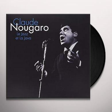 Claude Nougaro LE JAZZ ET LA JAVA Vinyl Record