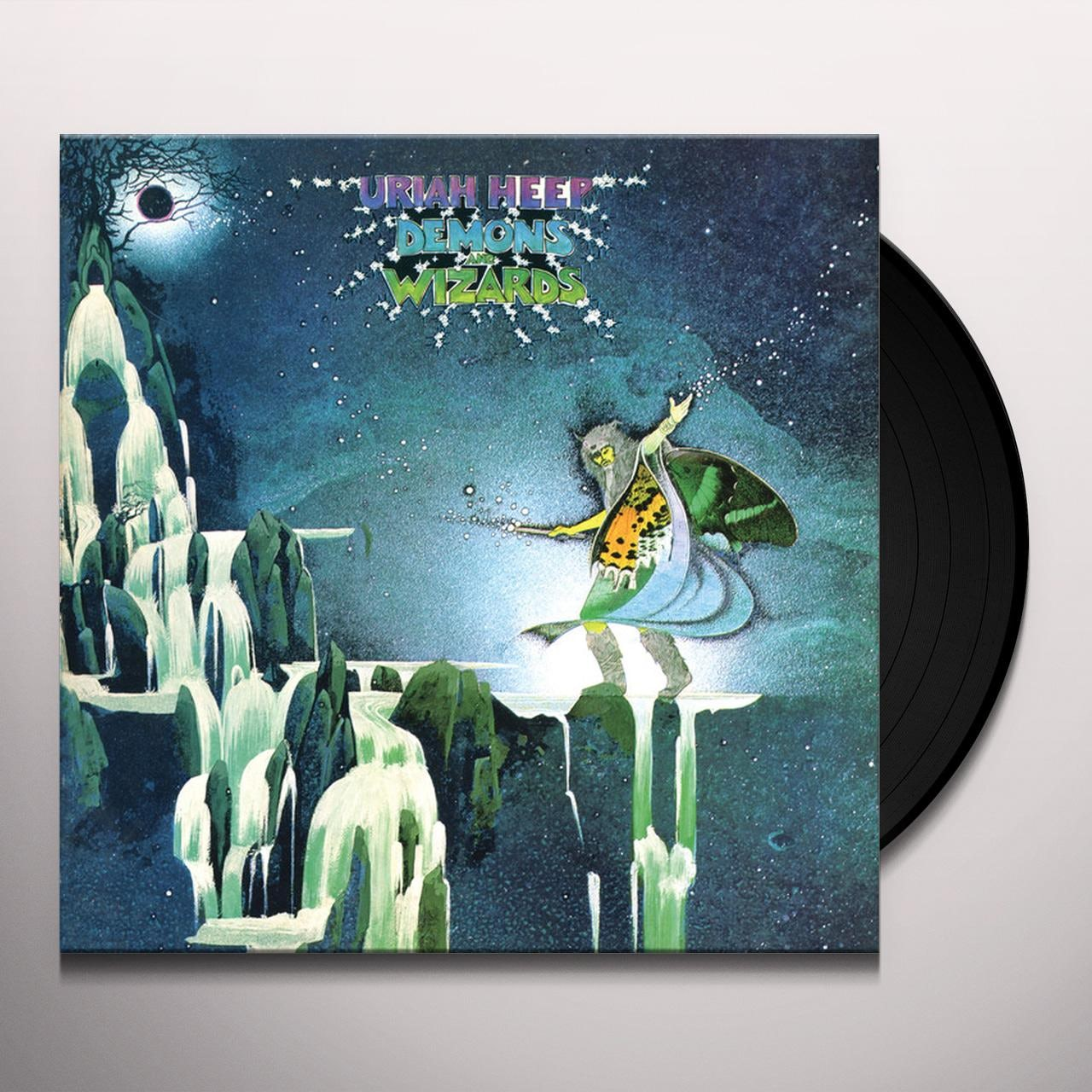 Uriah Heep Demons Wizards Vinyl Record
