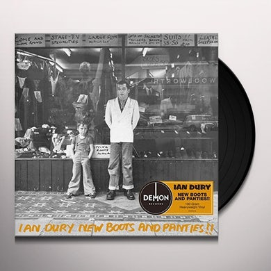 Ian Dury NEW BOOTS & PANTIES Vinyl Record