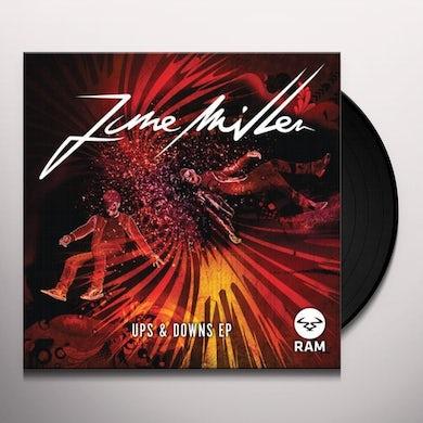 June Miller UPS & DOWNS Vinyl Record
