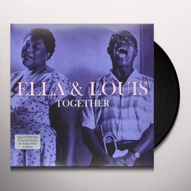 Ella Fitzgerald TOGETHER Vinyl Record