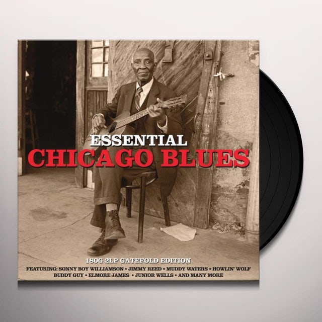 Essential Chicago Blues / Various Vinyl Record - UK Release
