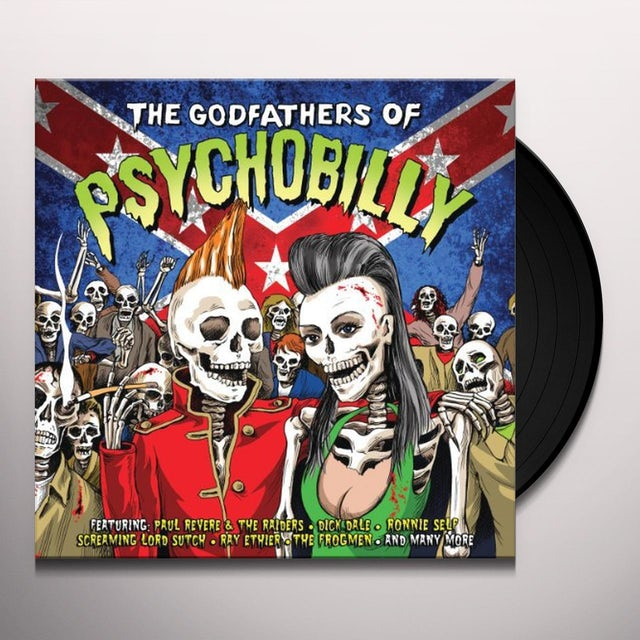 Godfathers Of Psychobilly / Various Vinyl Record