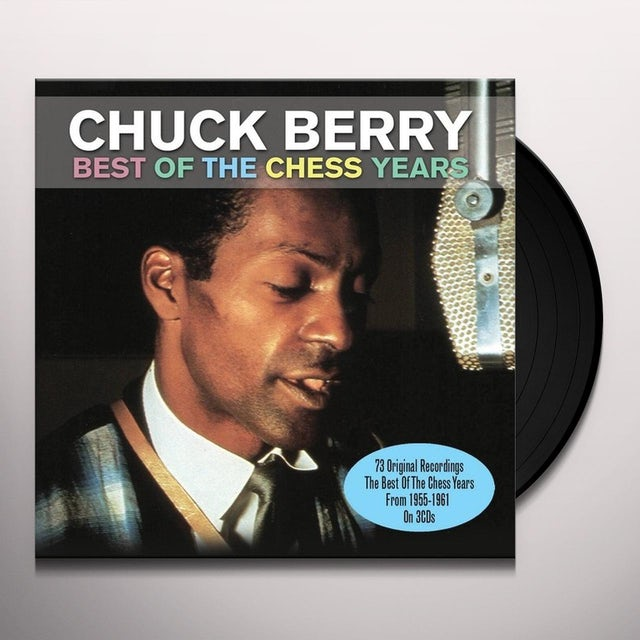 Chuck Berry BEST OF THE CHESS Vinyl Record