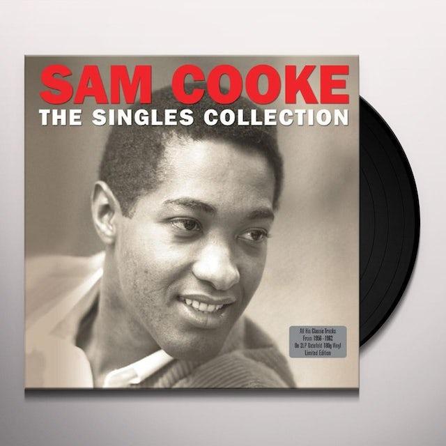 Sam Cooke SINGLES COLLECTION Vinyl Record