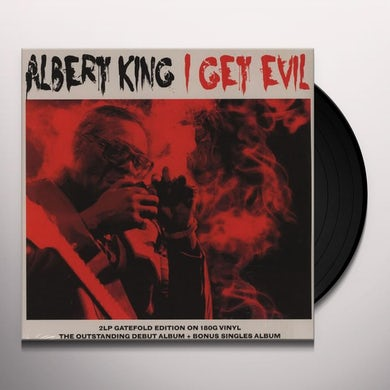 Albert King I GET EVIL Vinyl Record