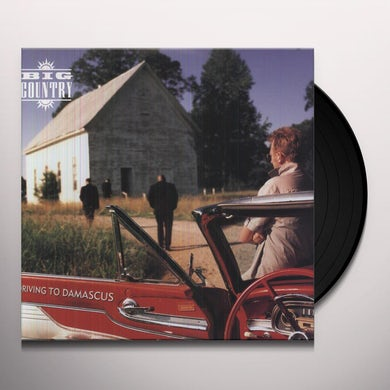 Big Country DRIVING TO DAMASCUS Vinyl Record