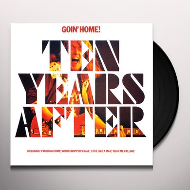 Ten Years After GOIN' HOME Vinyl Record