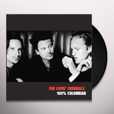 100% COLUMBIAN Vinyl Record