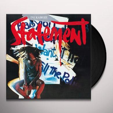 Ini Kamoze STATEMENT Vinyl Record