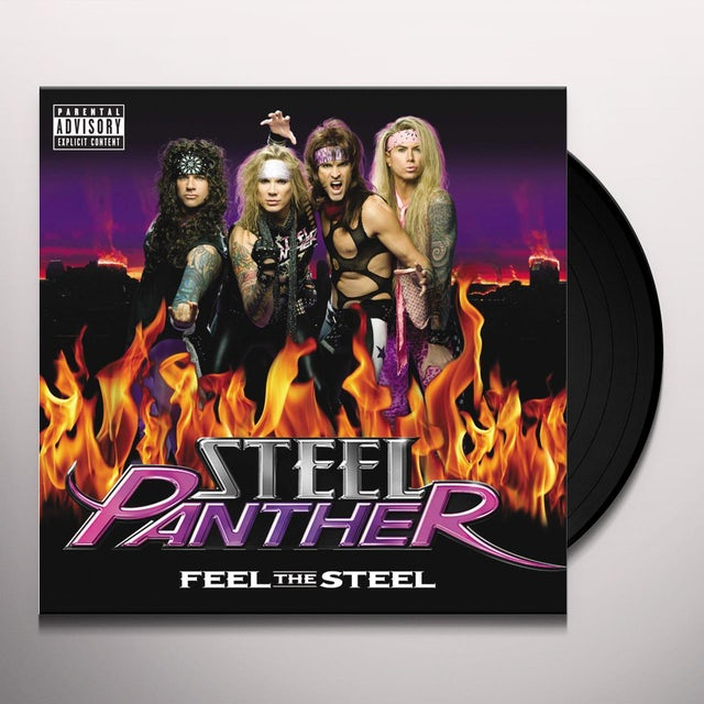 Steel Panther FEEL THE STEEL Vinyl Record