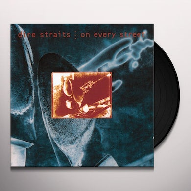 Dire Straits ON EVERY STREET Vinyl Record