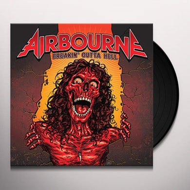 Airbourne BREAKIN OUTTA HELL Vinyl Record