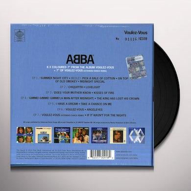 Abba VOULEZ VOUS Vinyl Record