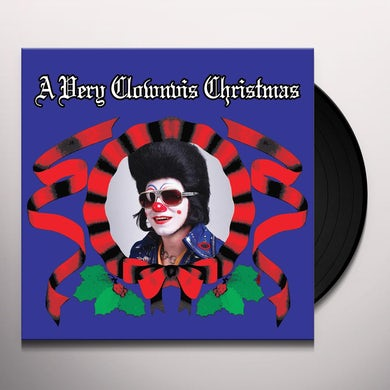 Clownis Presely VERY CLOWNVIS CHRISTMAS Vinyl Record
