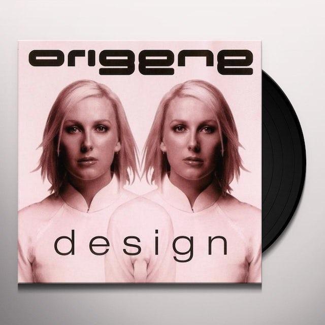 Origene DESIGN Vinyl Record