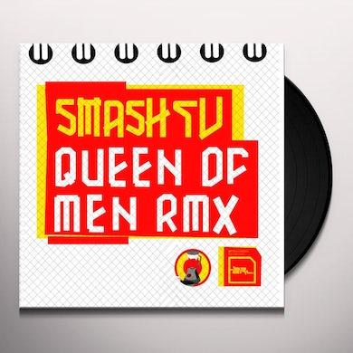 Smash Tv QUEEN OF MEN RMX Vinyl Record