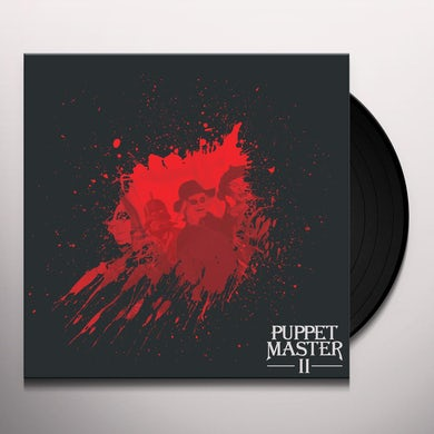 Richard Band PUPPET MASTER II Vinyl Record