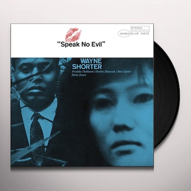 Wayne Shorter SPEAK NO EVIL Vinyl Record - Gatefold Sleeve, 180 Gram Pressing