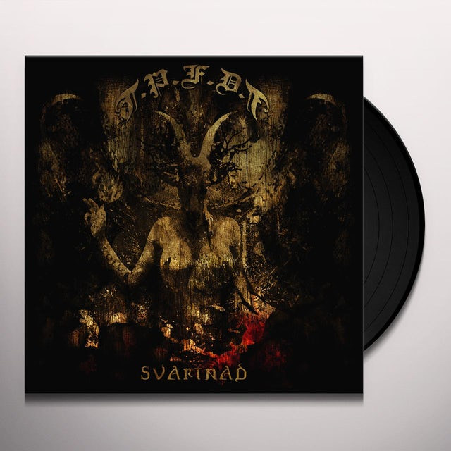 Pete Flesh Deathtrip SVARTNAD Vinyl Record