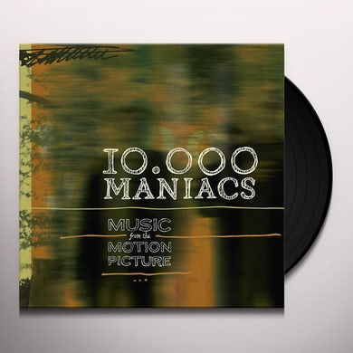 10,000 Maniacs MUSIC FROM THE MOTION PICTURE Vinyl Record