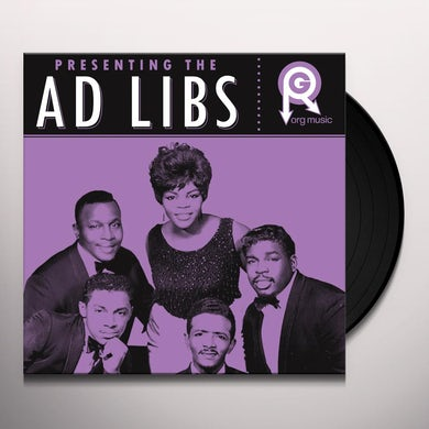 PRESENTING... THE AD LIBS Vinyl Record