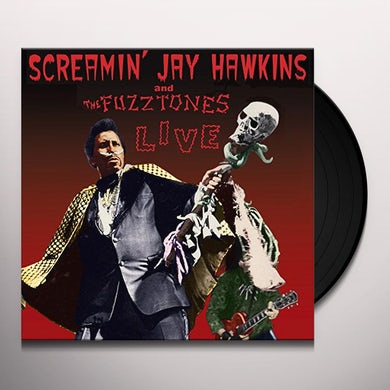 Screamin Jay Hawkins LIVE Vinyl Record