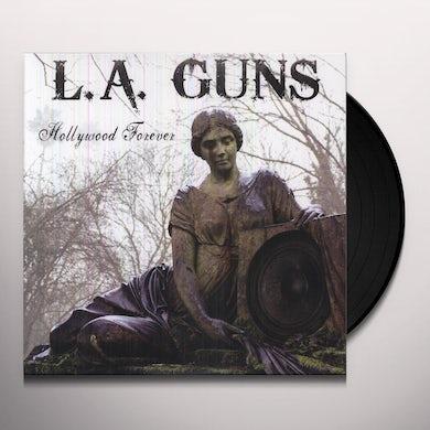 LA Guns HOLLYWOOD FOREVER Vinyl Record