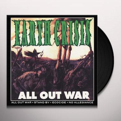 Earth Crisis  ALL OUT WAR / FIRESTORM Vinyl Record