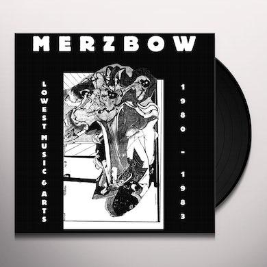Merzbow LOWEST MUSIC & ARTS 1980-1983 Vinyl Record