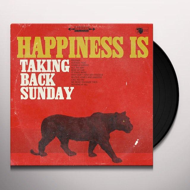 Taking Back Sunday HAPPINESS Vinyl Record