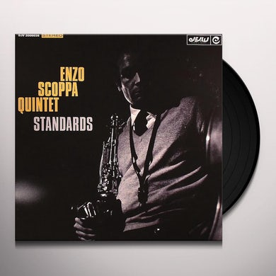 Enzo Quintet Scoppa STANDARDS Vinyl Record
