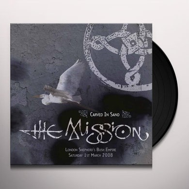 The Mission CARVED IN SAND Vinyl Record