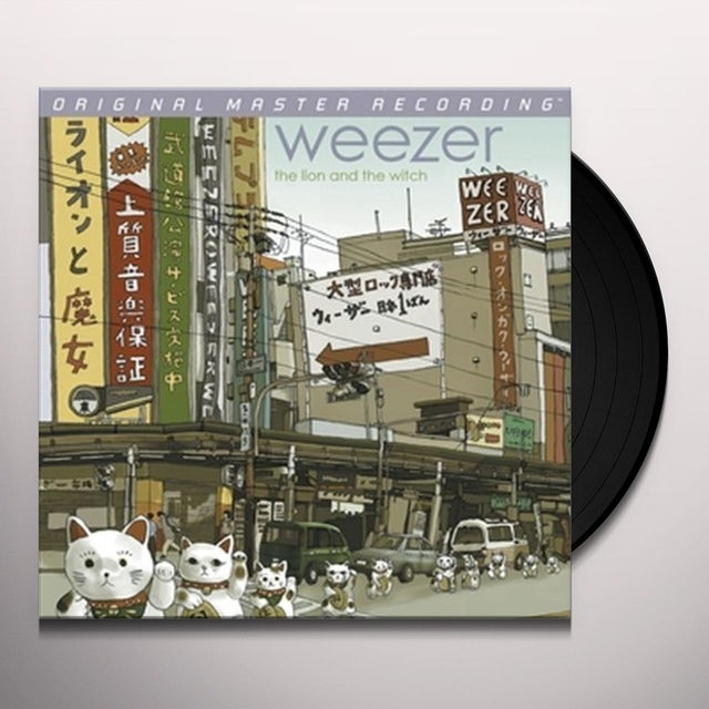 Weezer LION & THE WITCH Vinyl Record