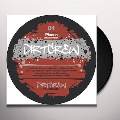 Dirt Crew PLACES / DEEP (WE ARE) REMIXES Vinyl Record