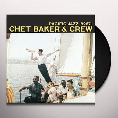 CHET BAKER & CREW Vinyl Record
